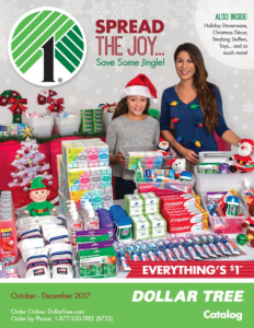 picture of Dollar Tree Holiday Catalog 2017