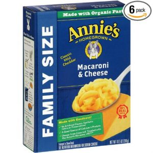 picture of Annie's Family Size Macaroni and Cheese 6pk Sale