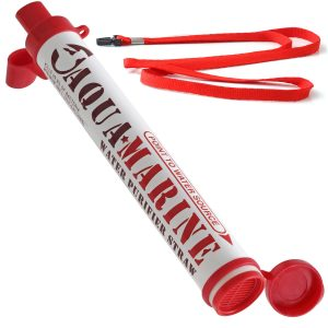 picture of AquaMarine Purifier Straw Water Filter Personal Survival Kit
