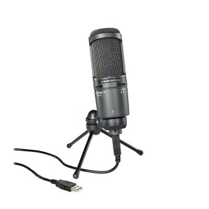 picture of Audio-Technica AT2020USB+ Cardioid Condenser USB Microphone Sale