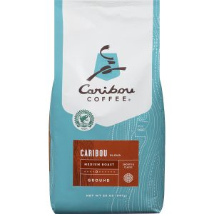 picture of Caribou Coffee Caribou Blend Ground Medium Roast, 20 Ounce bag