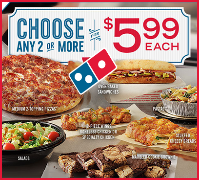 Dominos Pizza Coupons Promotions Specials For May 2019