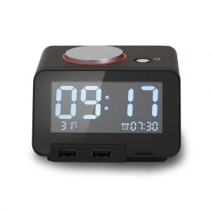 picture of Homtime Multi-function Alarm Clock, Thermometer, Charging Station