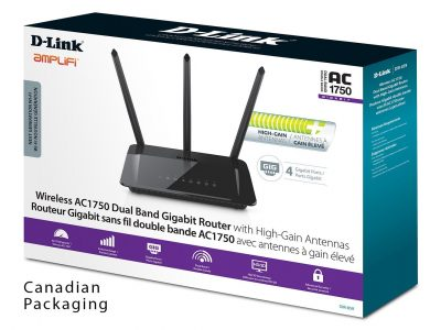 picture of 20% off select PC Gaming Accessories - D-Link AC1750 Router