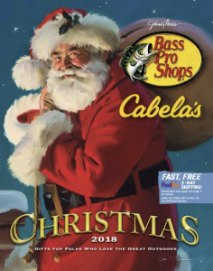 picture of Bass Pro Shops Christmas 2018 Catalog