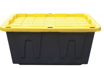 picture of 4 Centrex Tough Box Storage Tote, 27 Gallon Sale