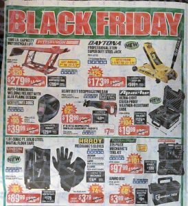 picture of Harbor Freight Black Friday 2018 Ad Scans