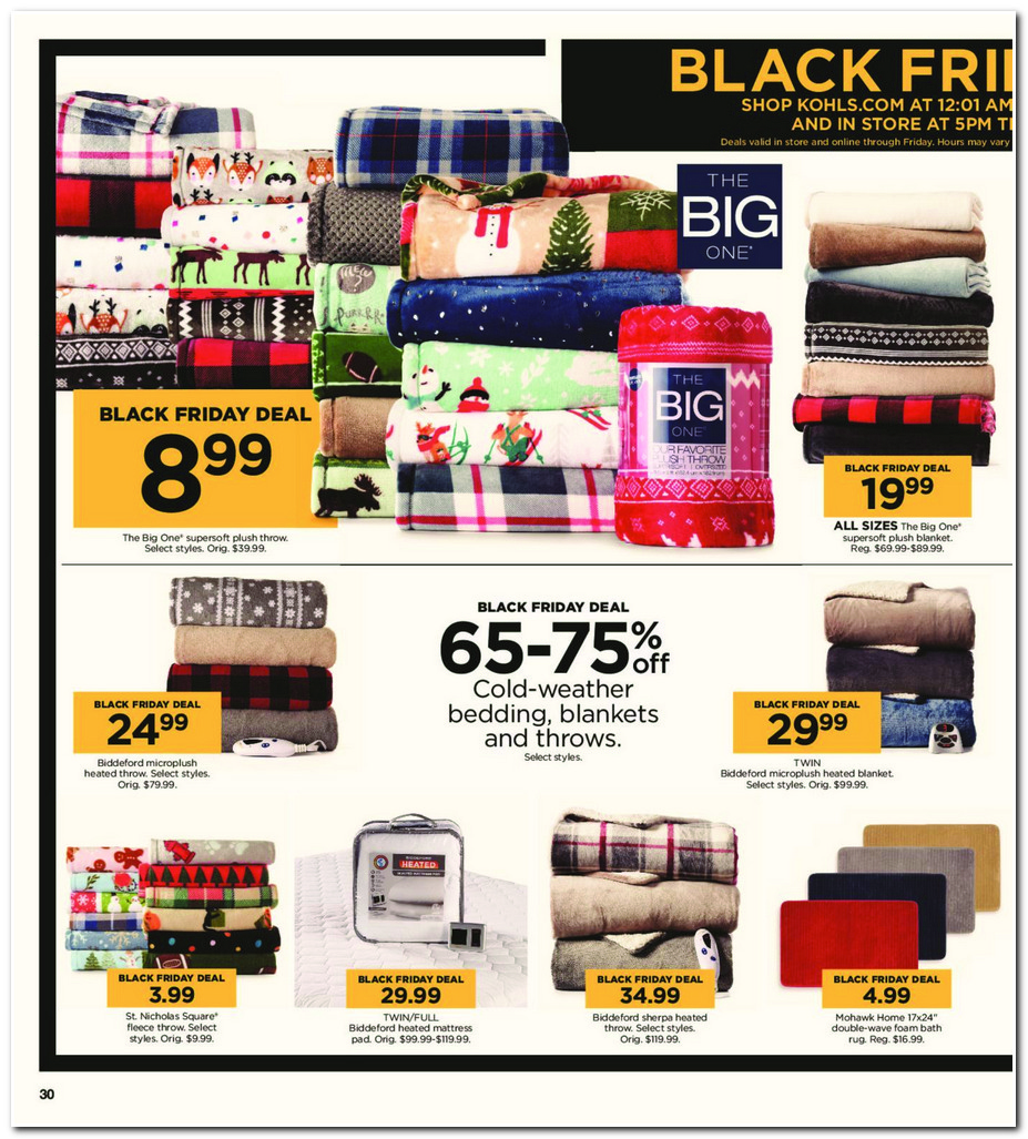 4dc01838f385 Black Friday 2017  Kohl s Ad Scan - BuyVia