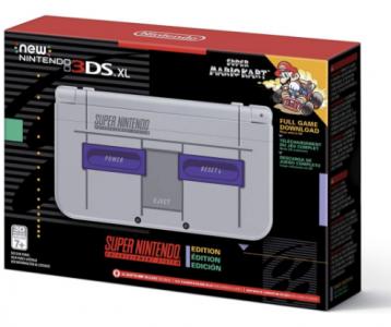 picture of Nintendo 3DS XL Super NES Edition+ Mario Kart Sale
