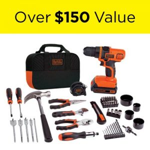 picture of Black & Decker 20-Volt MAX Lithium-Ion Drill and Project Kit Sale