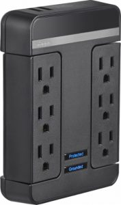 picture of Rocketfish 6-Outlet/2-USB Wall Tap Surge Protector