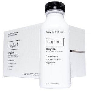 picture of Soylent Meal Replacement Drink, Original, 14 oz Bottles, Pack of 12 Sale