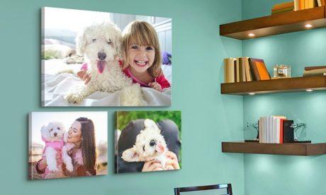 picture of Custom Printed Photo Premium Canvases Sale
