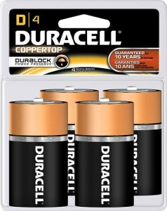 picture of 50%–64% Off a Variety of Duracell Household Batteries
