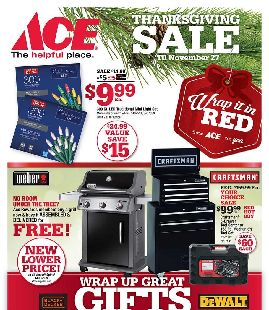 Black Friday 2017: Ace Hardware Ad Scan