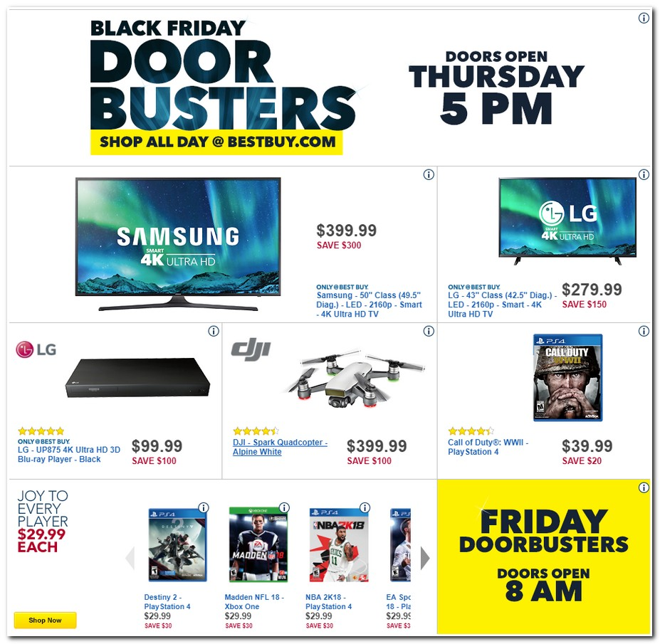 Best buy deals for black friday 2018