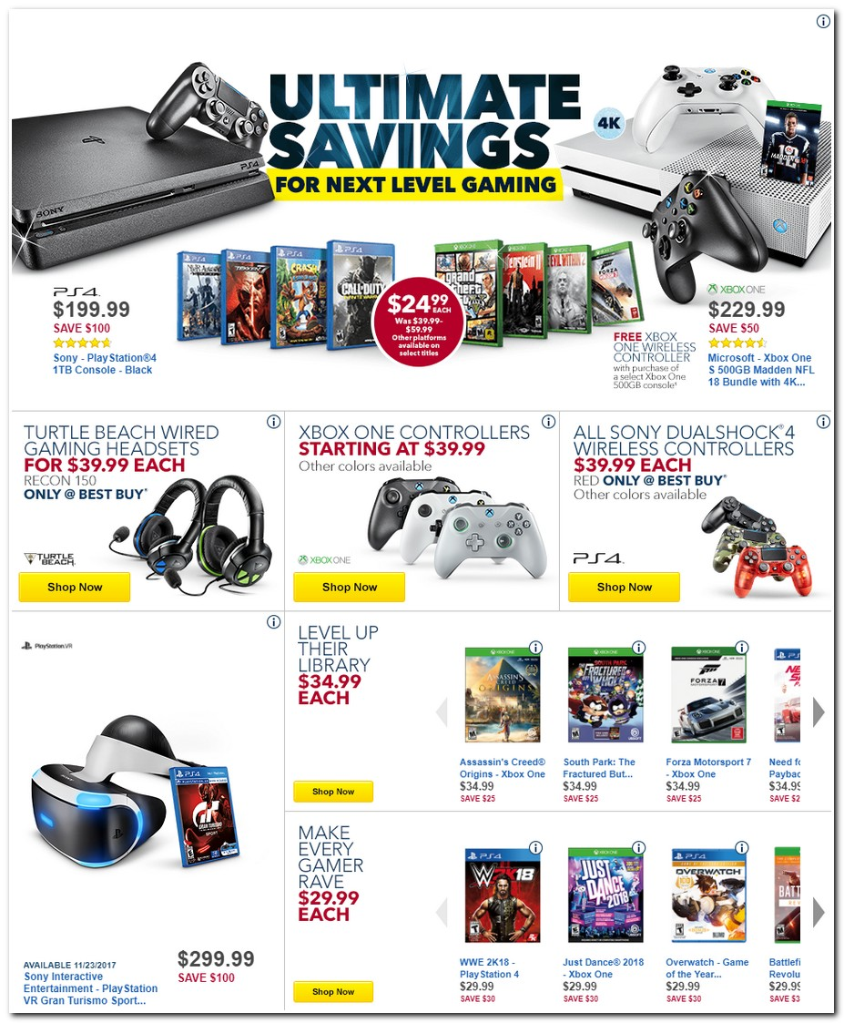 Black Friday 2017 Best Buy Ad Scan Buyvia
