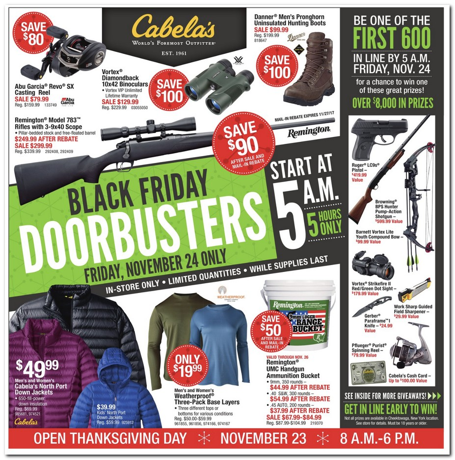 94c406846 Black Friday 2017: Cabela's Ad Scan - BuyVia