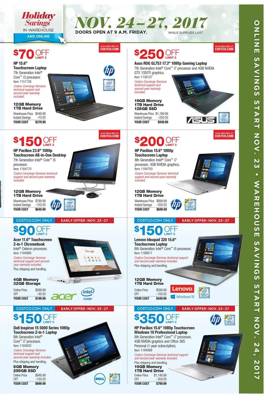 Black Friday 2017: Costco Ad Scan - BuyVia