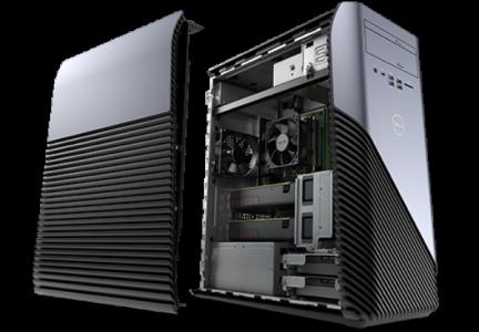 picture of Dell Inspiron 5675 AMD Ryzen 5 Four-Core 8GB GPU Gaming Desktop