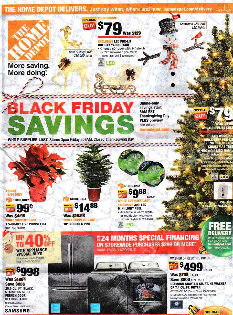 black friday 2017 home depot ad scan buyvia. Black Bedroom Furniture Sets. Home Design Ideas