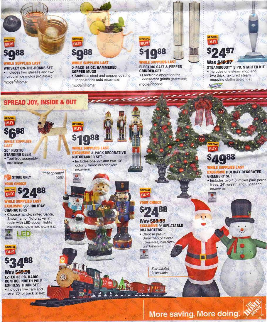 swipe to browse ad click to visit home depot