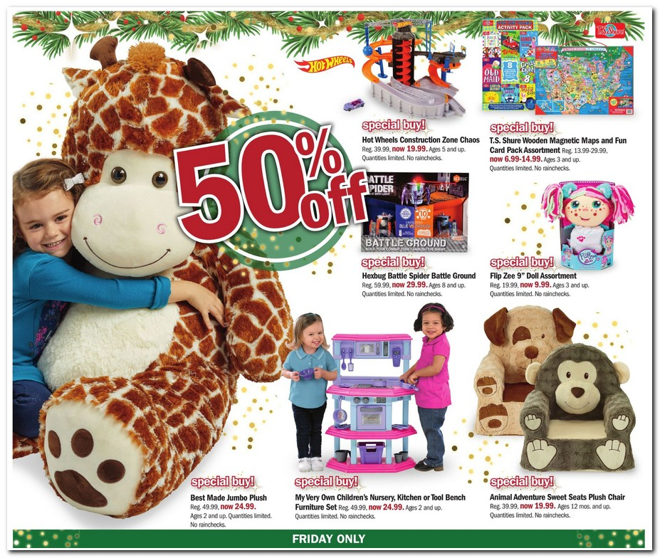 Meijer Black Friday 2017 ad scan