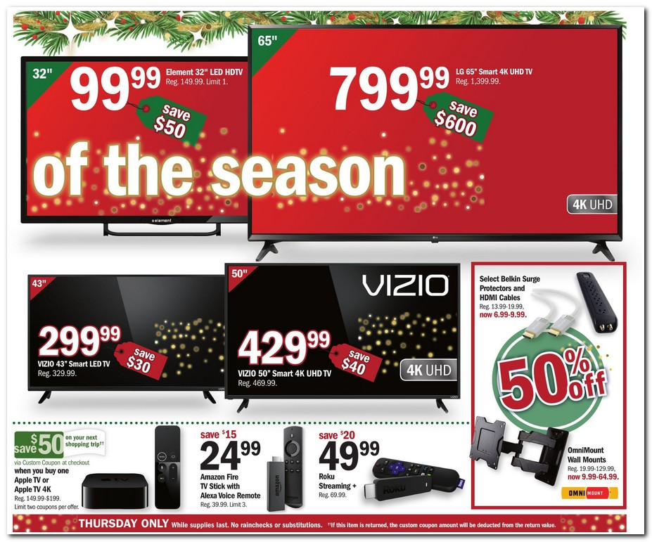 Meijer Thanksgiving 2017 ad scan
