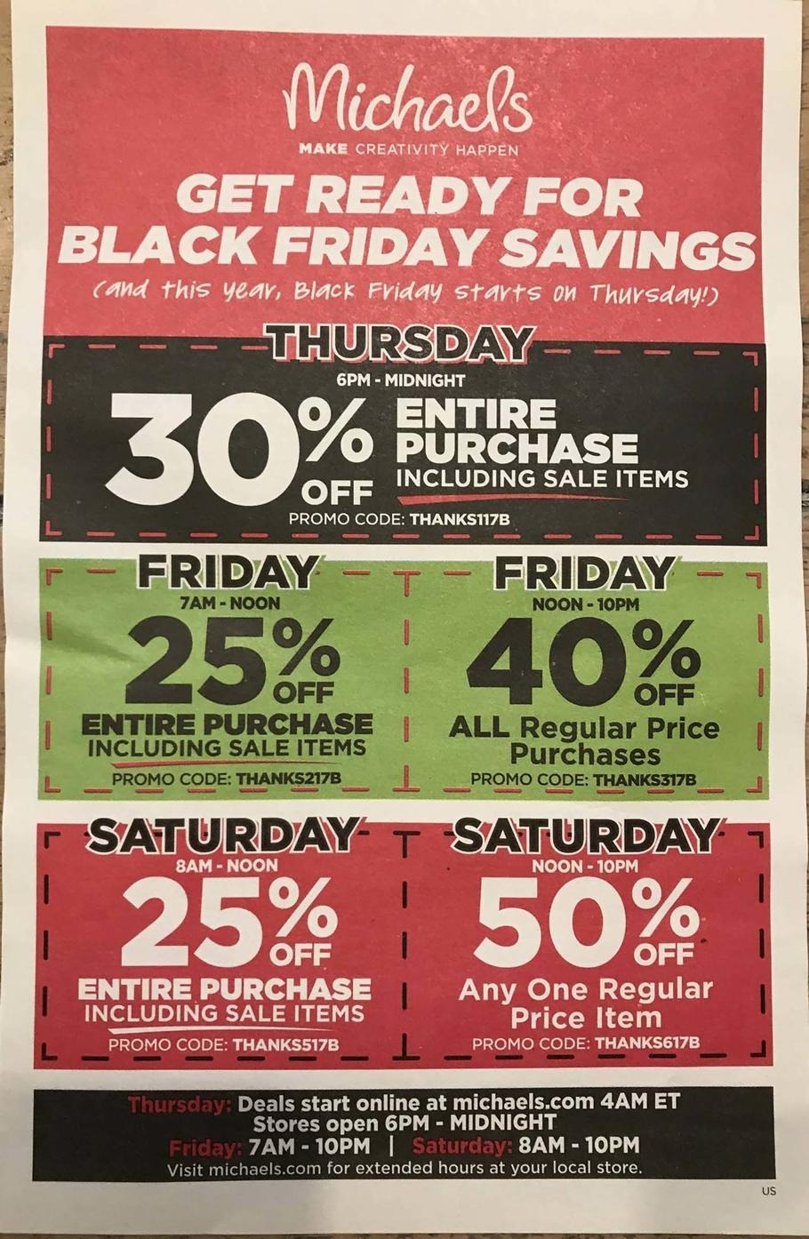 Black friday coupon codes 2018