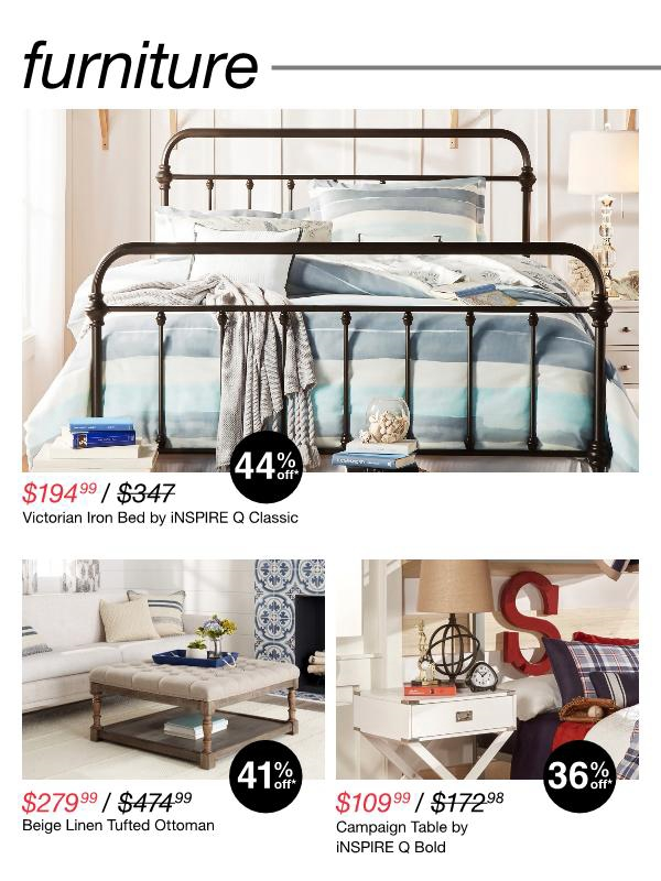 Beautiful Swipe to Browse Ad Click to visit Overstock