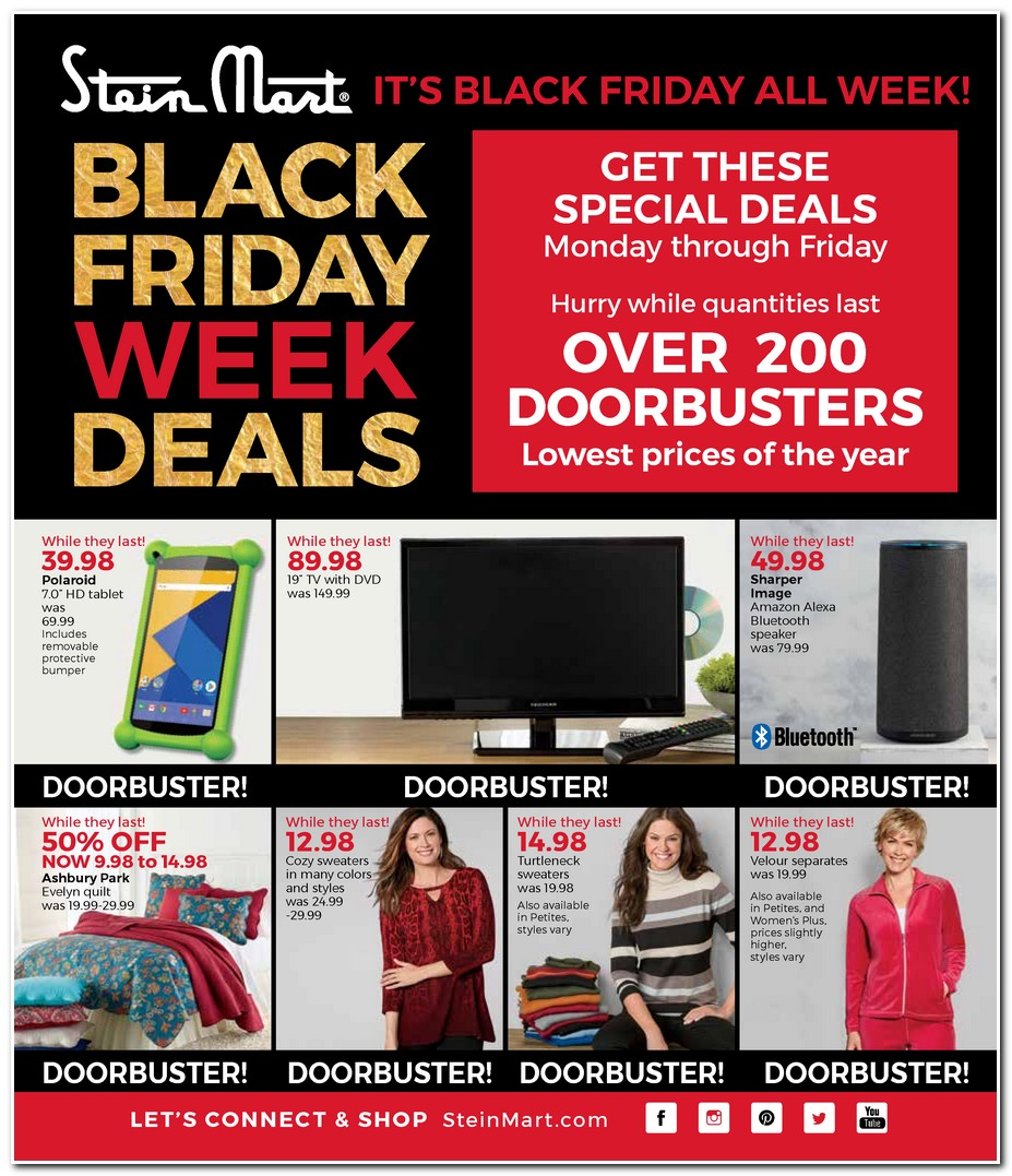black friday 2017 stein mart ad scan buyvia. Black Bedroom Furniture Sets. Home Design Ideas