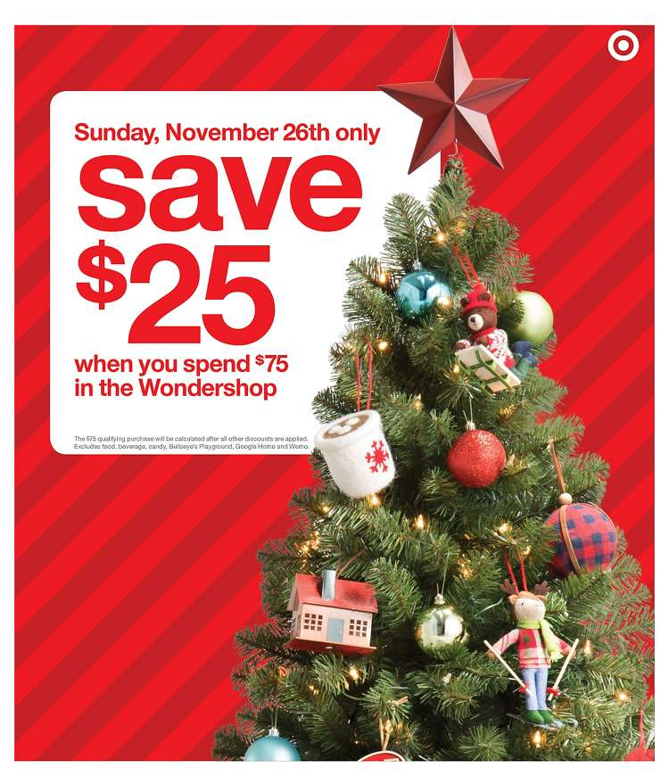 Cyber Monday 2017: Target Ad - BuyVia