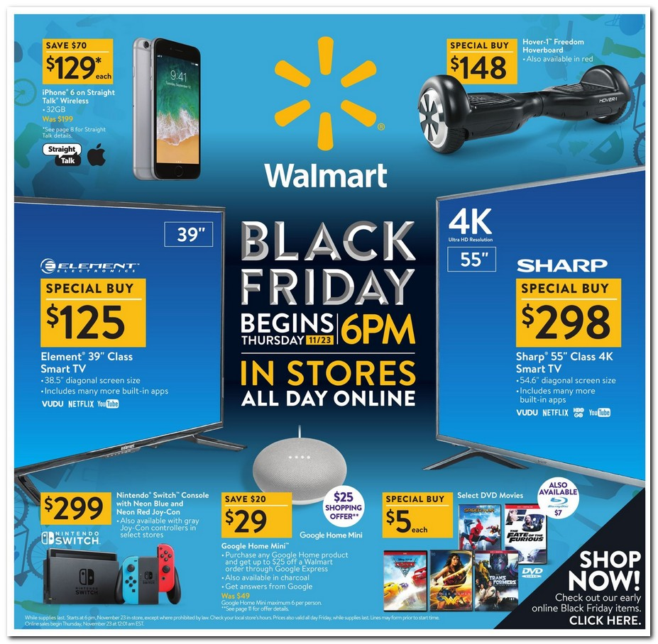 Sales Deal: Black Friday 2017: Walmart Ad Scan