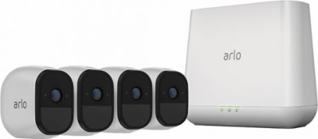 picture of Arlo Pro Security System 4 Camera with Siren Sale