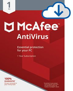 picture of $0.01 for McAfee 2018 AntiVirus 1 PC