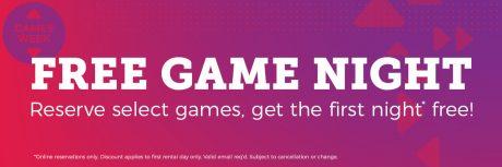picture of Free Redbox 1 Night Video Game Rental