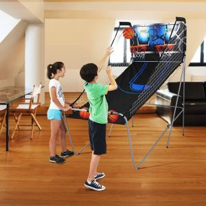 picture of MD Sports 2-Player Arcade Basketball Game with 8 Game Options
