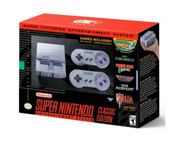 picture of Nintendo SNES Super NES Classic Edition in Stock