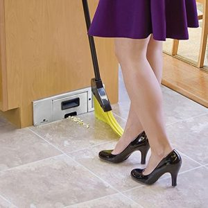 picture of Sweepovac Built in Kitchen Vacuum for Below Cabinets and Toe Kick Spaces