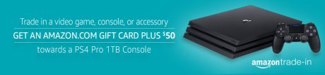 picture of $50 off PS4 Pro for Video Game, Console, Accessory Trade in