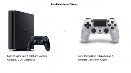 picture of Playstation 4 Slim 1TB + Extra Controller Sale