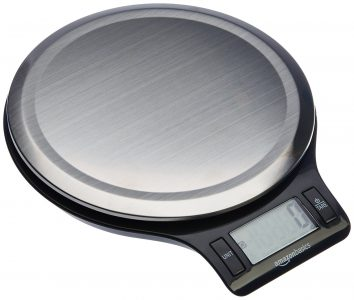 picture of AmazonBasics Stainless Steel Digital Kitchen Scale