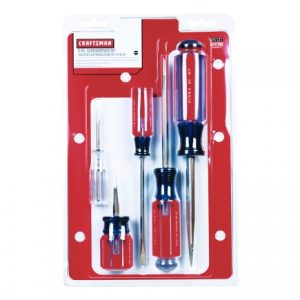 picture of Craftsman 5 Piece Slotted Screwdriver Set Sale