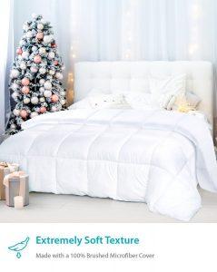 picture of Equinox Comforter Hypoallergenic Alternative Goose Down Duvet