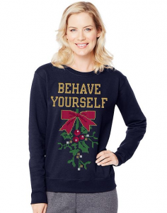 picture of Hanes Ugly Christmas Sweatshirts 2 for $10 Sale