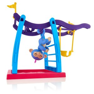picture of Wow Wee Fingerlings Playset - Monkey Bar Playground + Liv the Baby Monkey Sale