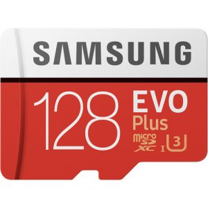 picture of Samsung 128GB EVO plus MicroSDXC Memory Card w/Adapter Sale