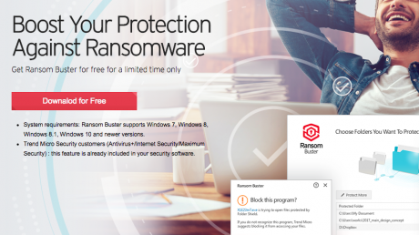 picture of Free Trend Micro RansomBuster