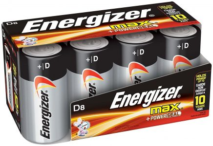 picture of Energizer D Cell Batteries, Max Alkaline (8 Count)