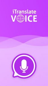 picture of Free iTranslate Voice iOS App